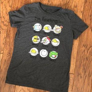"""TokiDoki Gudetama """"Lazy"""" T-shirt"""